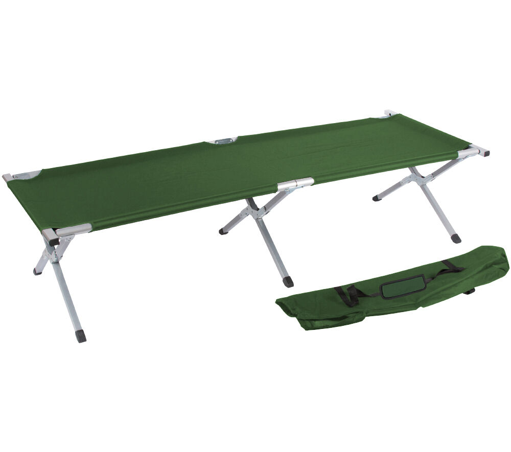 Portable Folding Camping Bed and Cot By Trademark Innovations (Assorted colors)