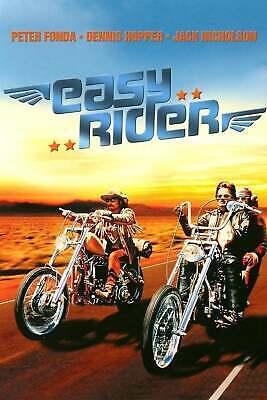 Easy Rider 1969 Classic Movie Art Silk Poster 12x18 24x36