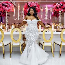 Wedding Dresses Plus Size Bridal Gown Size 4 6 8 10 12 14 16 18 2017 Mermaid New