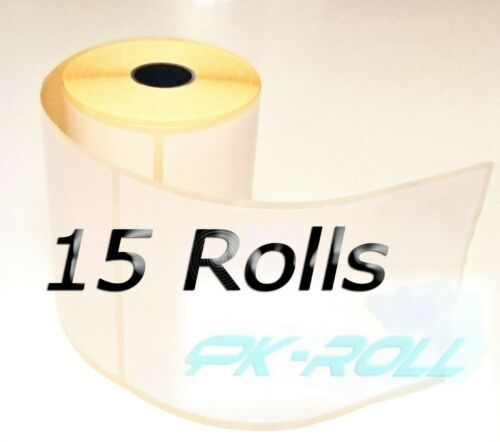 Thermal Direct White Labels for Zebra and More 102x152mm 4x6 inch