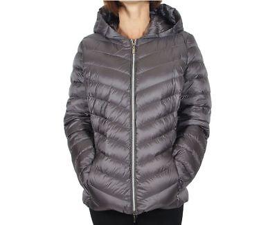GIACCA GEOX W7425B donna giubbino giubbotto cappotto imbottito piumino pelliccia | eBay