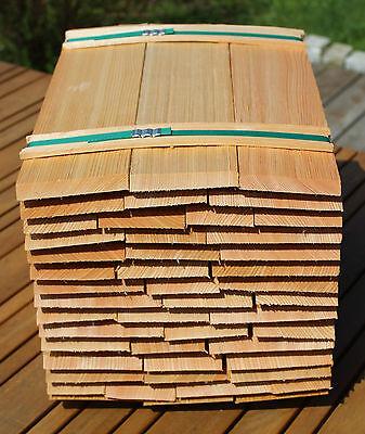 Baustoffe & Holz Sonstige Holzschindeln Gartenhaus Spielhaus Backofen Lärche RegelmäßIges TeegeträNk Verbessert Ihre Gesundheit Sinnvoll Lärchenholzschindeln 40cm