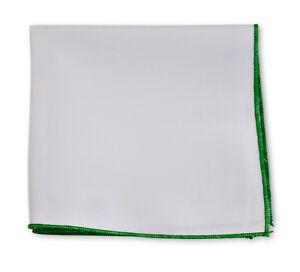 Frederick-Thomas-white-cotton-pocket-square-with-green-edge-handkerchief-FT3402