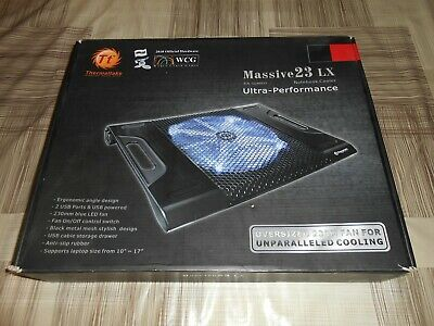 Thermaltake Massive A23 16 Nero base di raffreddamento per notebook