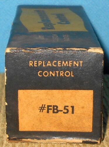 * NOS D/&M Products FB-51 Control-Vol Tone /& Switch 51 Ford Free Shipping FB-51