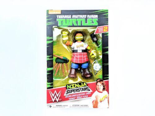 """Teenage Mutant Ninja Turtles WWE Superstars Michelangelo as /""""Rowdy/"""" Roddy Piper"""