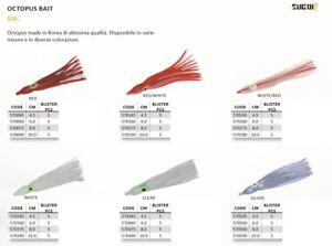 OCTOPUS-BAIT-6-0-cm-SUGOI-made-in-Korea-Octopus-polipetti-per-la-pesca-in-mare