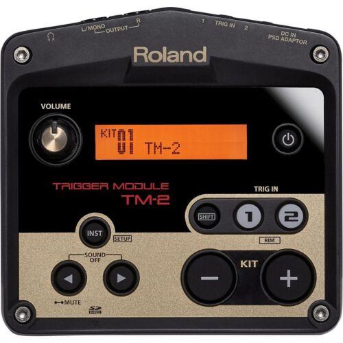 Roland TM-2 Acoustic Drum Adapter /& Battery Trigger Module Authorized Dealer
