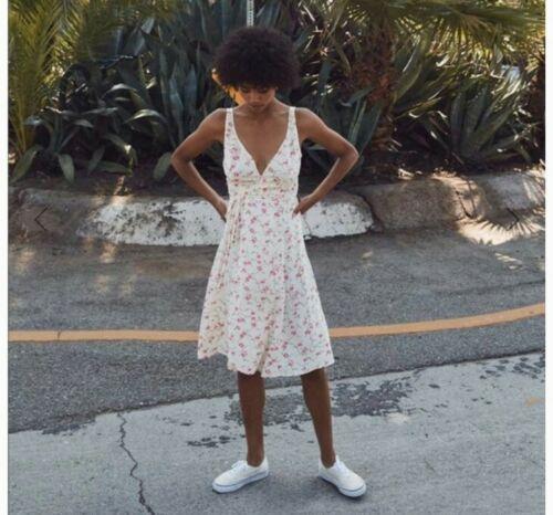 Retail: $197-Christy Dawn ROSIE Wrap Dress Floral