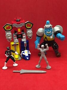 Mighty-Morphin-Power-Rangers-Micro-Machines-3-Megazord-vs-Squatt-Loose-Complete