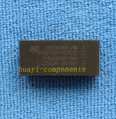 1 un M48T59Y-70PC1D 64 kbit 8Kb x8 cronómetro del Sram DIP-28