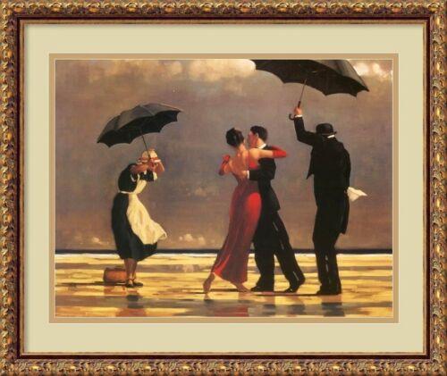 """/""""The Singing Butler/"""" Framed Art Jack Vettriano 20x25"""
