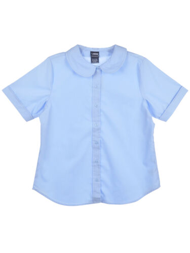 French Toast Big Girls/' Plus S//S Peter Pan Fitted Shirt