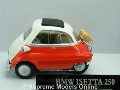 Burbuja BMW Isetta 250 Modelo de Coche 1:43 Rojo Cararama problema 251PND K8967Q =