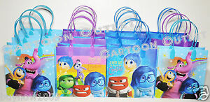 DISNEY-INSIDE-OUT-CANDY-BAGS-LOOT-GOODY-BAGS-PARTY-BAGS-GIFT-FAVOR-BAGS-12PC