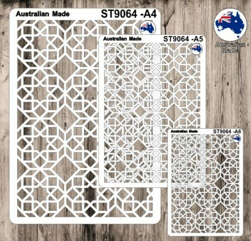 A6 Cardmaking Masks for Scrapooking ST9064 Pattern A4 A5 Stencils