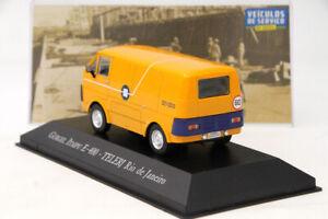 1-43-Altaya-Gurgel-Itaipu-E400-Telerj-Rio-De-Janeiro-Diecast-Models-Toy-Car-IXO