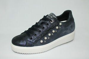 €84 Made Zeppa Listino Blu co Igi 20 1148711 Italy 90 3cm In Sneakers w4x1vnqBB