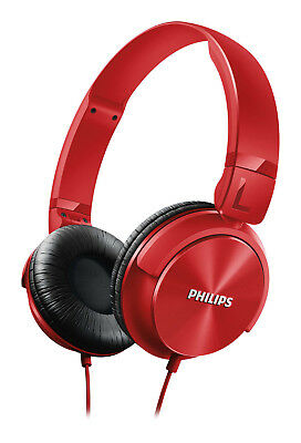 Philips SHL3060RD/00 On-Ear DJ Style Monitoring Headphones (Red)