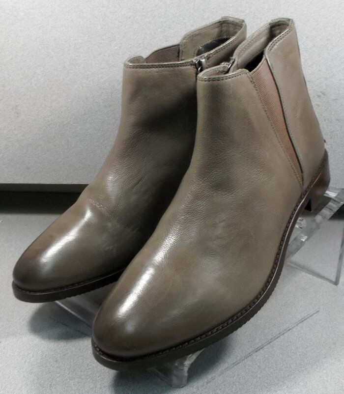 7852100 LSPBTS50 Women's shoes Size 7 M taupe Leather Boots Johnston & Murphy