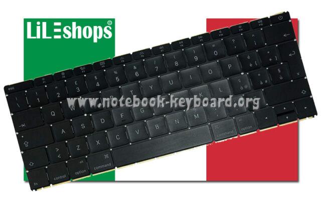 """Tastiera Italiano Originale Per Apple MacBook 12"""" Retina A1534 - EMC 2991 Nuovo"""
