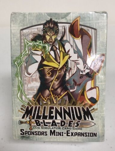Millennium Blades CCG Simulator Card Game Sponsors Mini-Expansion Set #2 NIB