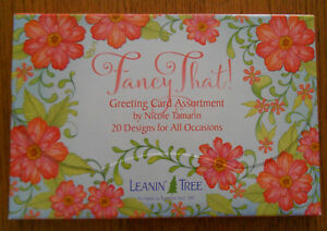 Leanin Tree Greeting Cards Assortment 20 Cards Box Set SONGBIRDS