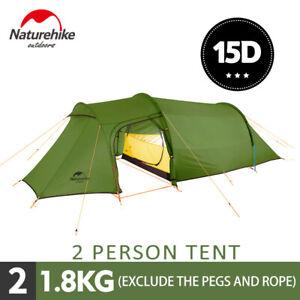 Naturehike-Ultralight-Family-Camping-Tunnel-Tent-Waterproof-2-4-Person-4-Season