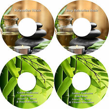 Anxiety Stress Relief & Relaxation Music On 4 CDs Massage Spa Healing Sleep Aid