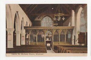 Interior-St-Michaels-Church-Minehead-Postcard-A850