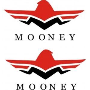 Details about Mooney Aircraft Logo Decal,Sticker!