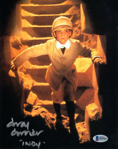 COREY-CARRIER-SIGNED-AUTOGRAPHED-8x10-PHOTO-YOUNG-INDIANA-JONES-RARE-BECKETT-BAS