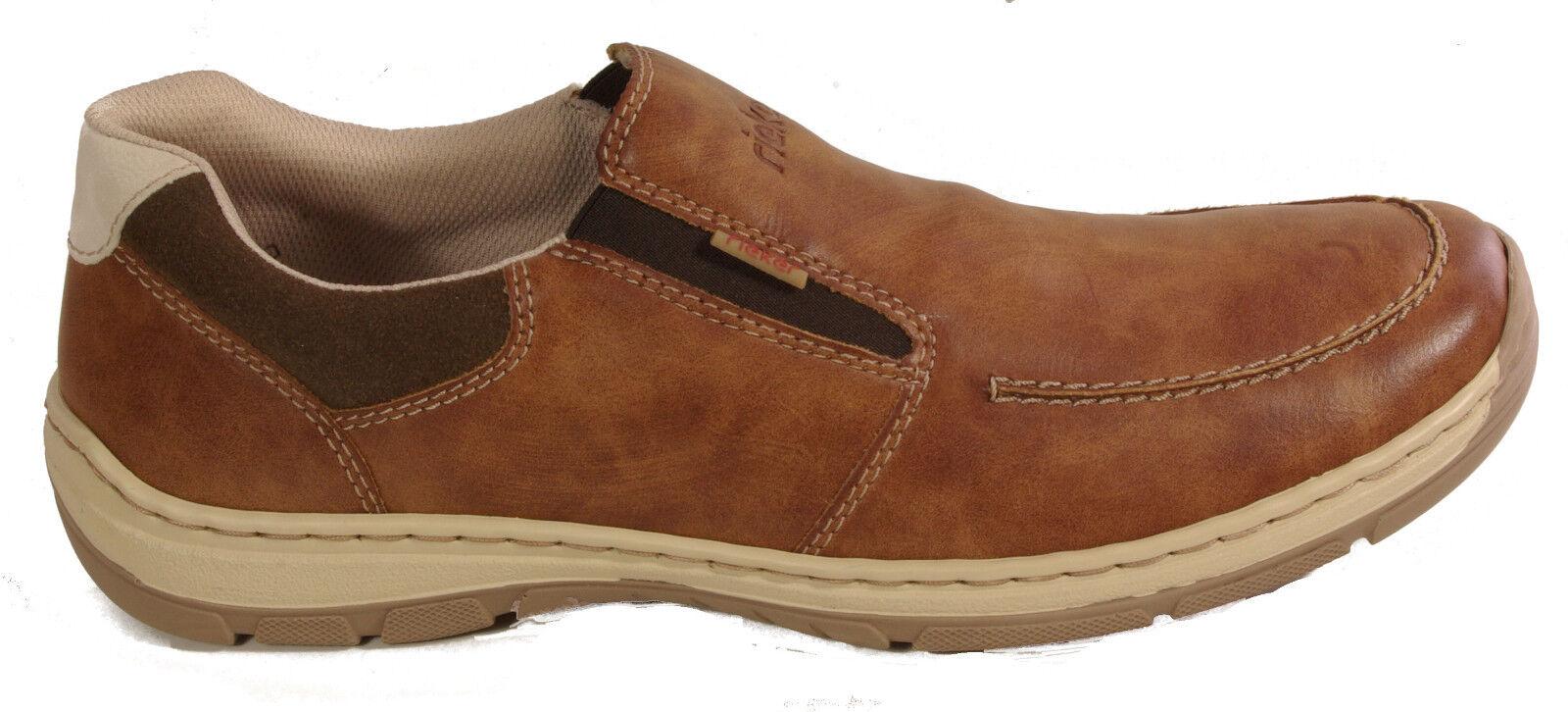 RIEKER Zapatos Zapatos Zapatos HalbZapatos Slipper braun NEU d9c1df