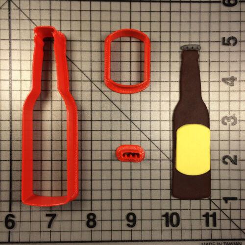 Beer Bottle 100 Cookie Cutter Set