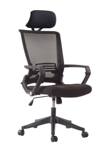 Ergonomic Mesh Back//Fabric Office Chair Seats W//Frame Easy Folding Fold Out