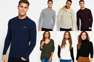 Neuer Superdry für Männer und Frauen Pullover Versch. Modelle und Farben 1311