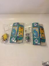 Medicom Disney Toy Monsters Inc. Series 1 KUBRICK set. Celia and CDA. Set of 2.