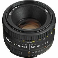 Nikon NIKKOR 50mm f/1.8 Ai Lens Camera Lenses