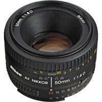 Nikon NIKKOR 50mm f/1.8 Ai Lens Camera Lenses