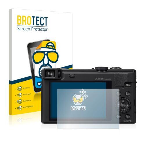 2x Pellicola Protettiva Display Opaca Panasonic Lumix dmc-tz61 Pellicola Protettiva Pellicola
