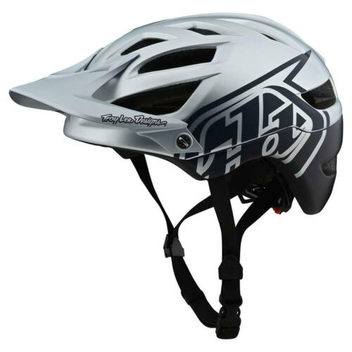 Troy Lee Designs 2020 A1 MTB Helmet MIPS Classic Silver//Navy All Sizes