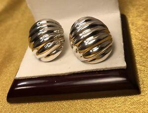 f82b84b3c Image is loading Barra-Sterling-Silver-Clip-On-Earrings-Fine-Jewelry