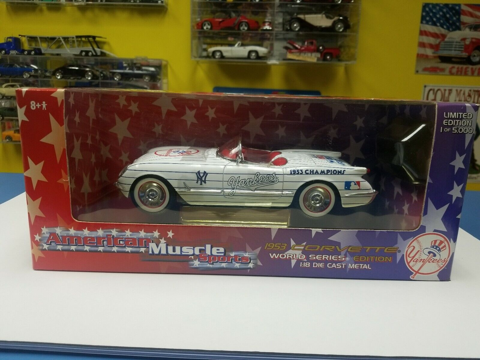 American Muscle Sports 1953 CORVETTE WORLD SERIES LIMITED EDITION NEW