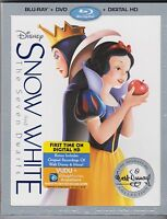 Snow White And The Seven Dwarfs Signature Collection Blu-ray Dvd Digital
