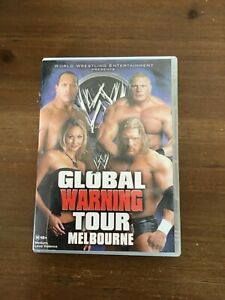 WWE-GLOBAL-WARNING-TOUR-MELBOURNE-DVD-GOOD-CONDITION-WRESTLING-ACTION