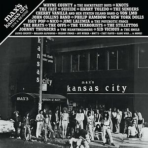 MAX-039-S-KANSAS-CITY-1976-amp-BEYOND-2CD-Suicide-Wayne-County-Fast-Nico-NY-Dolls-new