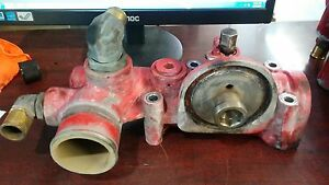 Cummins ISX Water Coolant Filter Base Inlet 3681446