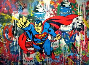 Brainwash Banksy Art is Not a Crim print canvas 8x12/&12x17 street art graffiti