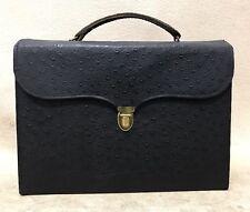 Avon Vintage 1950s Rare Ostrich Leather Brief Representative Catalog and Extras