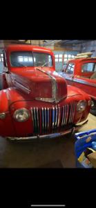 1947 Ford F47 half ton truck